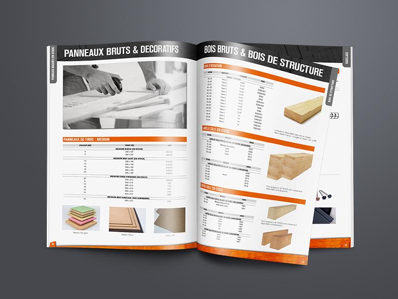 création catalogue, Chambost   Travail Associé Agence Communication Lyon et Valence