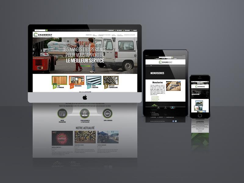 création site web, Chambost   Travail Associé Agence Communication Lyon et Valence
