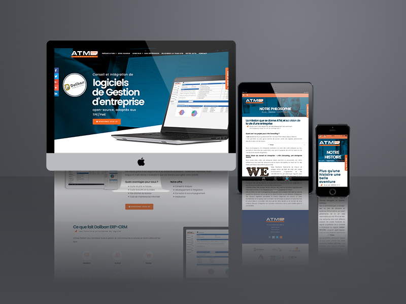 création site web, Ardrom | Travail Associé Agence Communication Lyon et Valence