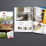 création catalogue résidences trigano | Travail Associé Agence Communication Lyon et Valence