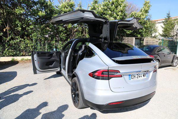 TESLA Model X, nous l'avons essayée pour vous…