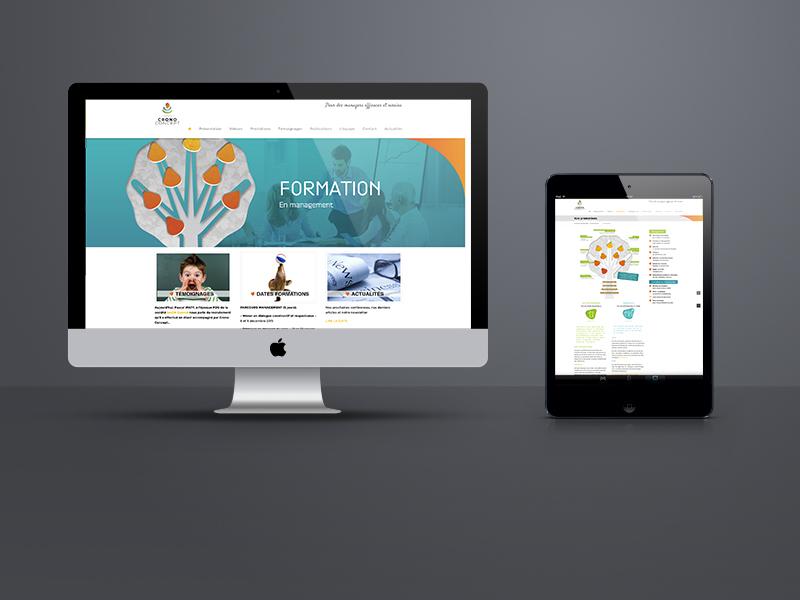 création site web, Crono Concept | Travail Associé Agence Communication Lyon et Valence