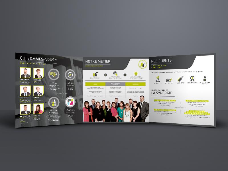 création plaquette, Cadra | Travail Associé Agence Communication Lyon et Valence