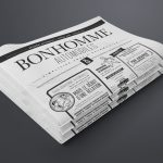 réalisation gazette Bonhomme Automobiles | Travail Associé Agence Communication Lyon et Valence