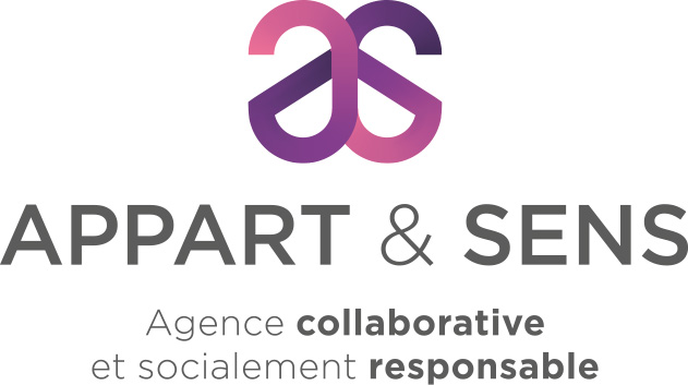 logo appart & sens | Travail Associé Agence Communication Lyon et Valence