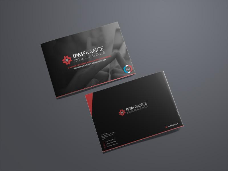 Plaquette Communication Corporate IPM FRANCE réalisée par Travail Associé - Agence Communication Valence