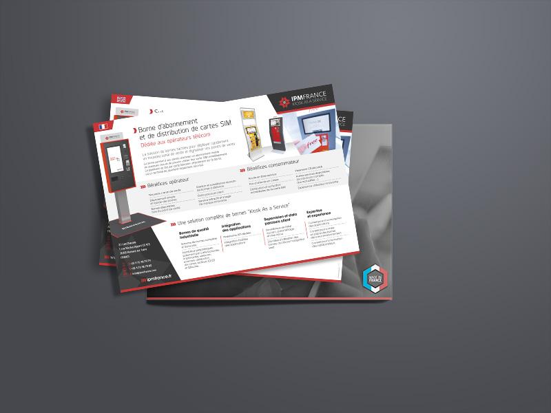Fiche Produit IPM FRANCE réalisée par Travail Associé | Agence Communication Valence